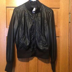 Faux Black Jacket
